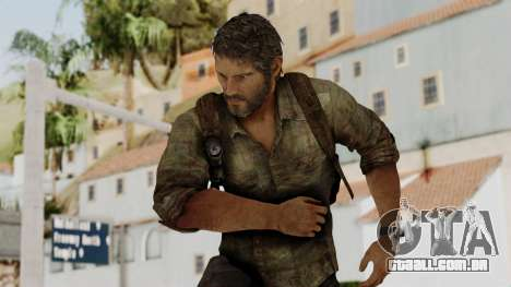 Joel - The Last Of Us para GTA San Andreas