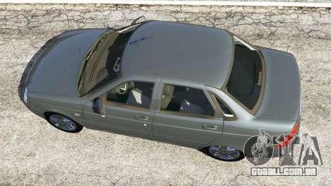 GTA 5 VAZ-2170 Lada Priora voltar vista