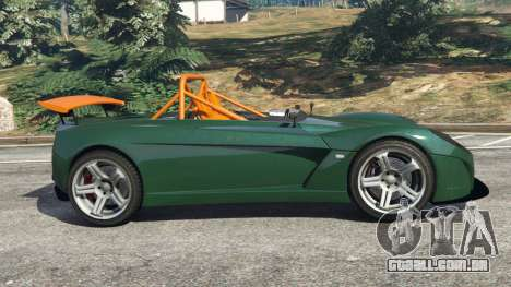GTA 5 Lotus 2-Eleven 2009 v0.5 vista lateral esquerda