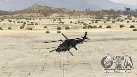 GTA 5 MH-60L Black Hawk quarto screenshot