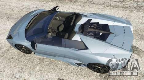 GTA 5 Lamborghini Reventon Roadster [Beta] voltar vista