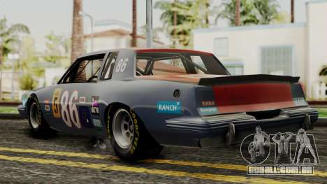 Pontiac GranPrix Hotring 1981 IVF para GTA San Andreas esquerda vista
