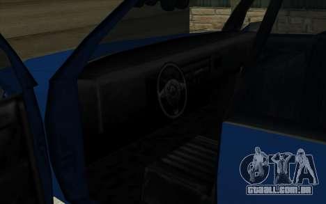 Toyota Crown Majesta Estilo GTA para GTA San Andreas vista direita