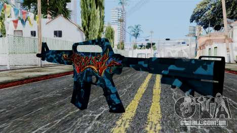M4A1-S Master Piese para GTA San Andreas segunda tela