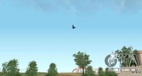 Corvos para GTA San Andreas terceira tela