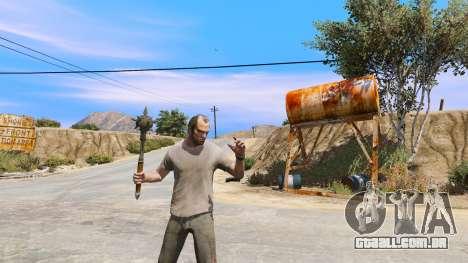 GTA 5 Aço Maça de TES IV: Oblivion quarto screenshot