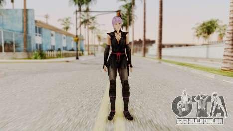 DOA 5 Ayane Ninja para GTA San Andreas segunda tela