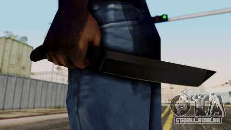 Nova faca para GTA San Andreas