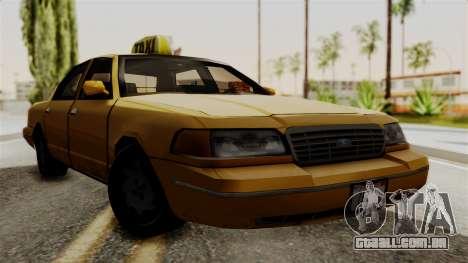 Ford Crown Victoria LP v2 Taxi para GTA San Andreas