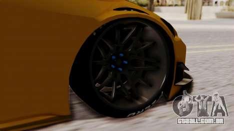 Honda S2000 GT1 para GTA San Andreas traseira esquerda vista