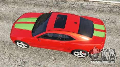Chevrolet Camaro SS 2010 [Beta] para GTA 5