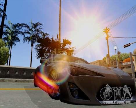 Vitesse ENB V1.1 Low PC para GTA San Andreas