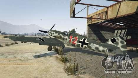 Messerschmitt BF-109 E3 v1.1 para GTA 5