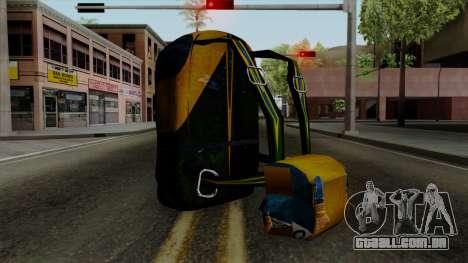 Brasileiro Parachute v2 para GTA San Andreas segunda tela