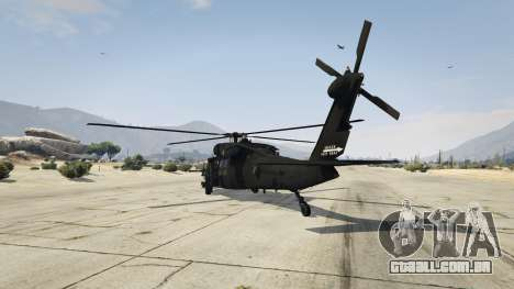 GTA 5 MH-60L Black Hawk terceiro screenshot