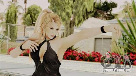 DOA 5 Sarah BlackDress para GTA San Andreas