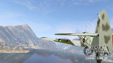GTA 5 Messerschmitt BF-109 E3 v1.1 sexta imagem de tela