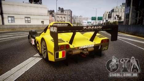 Radical SR8 RX 2011 [1] para GTA 4 traseira esquerda vista