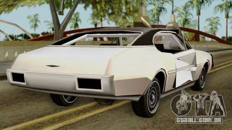Derby-Clover Beta v1 para GTA San Andreas esquerda vista