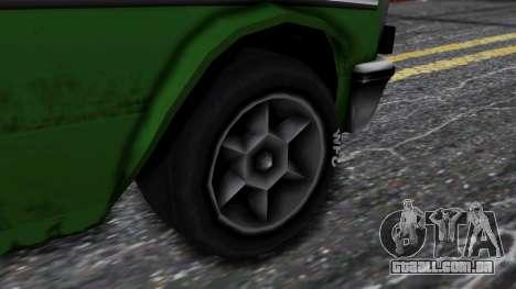 Drag-Perennial para GTA San Andreas traseira esquerda vista