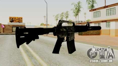 M4A1-S Basilisk para GTA San Andreas segunda tela