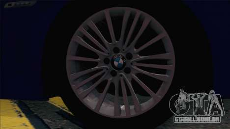 BMW 520 Comitê de Investigação para GTA San Andreas vista traseira