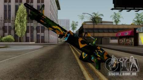 Brasileiro Minigun v2 para GTA San Andreas segunda tela