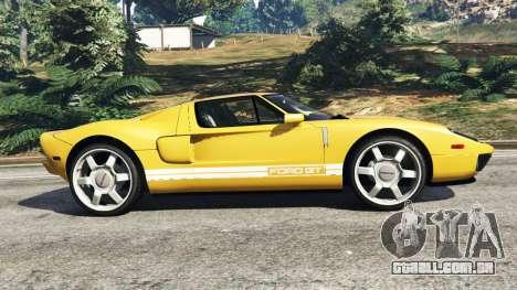 Ford GT 2005 v1.1 para GTA 5