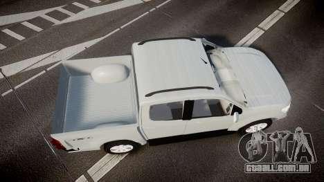 Chevrolet S10 LTZ 2014 v0.1 para GTA 4 vista direita