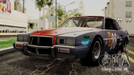 Pontiac GranPrix Hotring 1981 IVF para GTA San Andreas