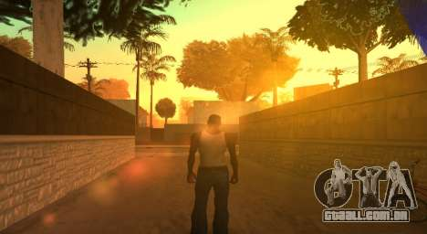 PS2 Graphics for Weak PC para GTA San Andreas segunda tela