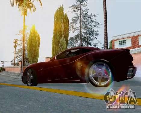Vitesse ENB V1.1 Low PC para GTA San Andreas terceira tela