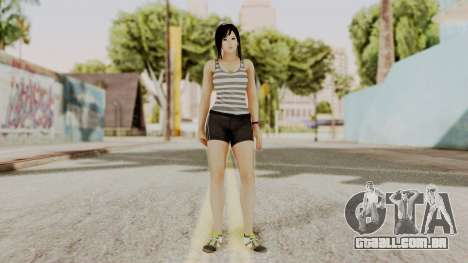DOA 5 Kokoro Casual para GTA San Andreas segunda tela
