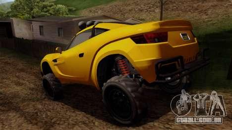 GTA 5 Coil Brawler para GTA San Andreas esquerda vista