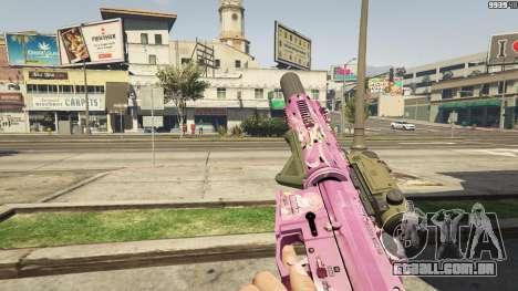 GTA 5 Anime mosquetão quarto screenshot