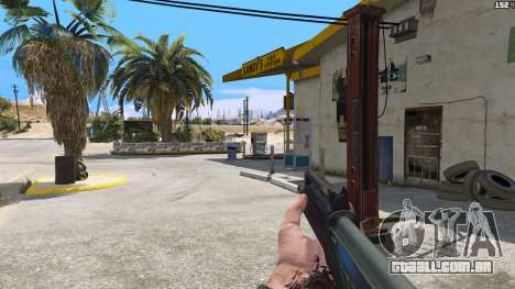 GTA 5 SAIGA de Battlefield 4 terceiro screenshot