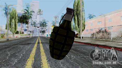 US Grenade from Battlefield 1942 para GTA San Andreas segunda tela