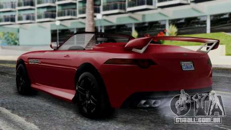GTA 5 Benefactor Surano v2 IVF para GTA San Andreas esquerda vista