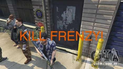 Kill Frenzy para GTA 5
