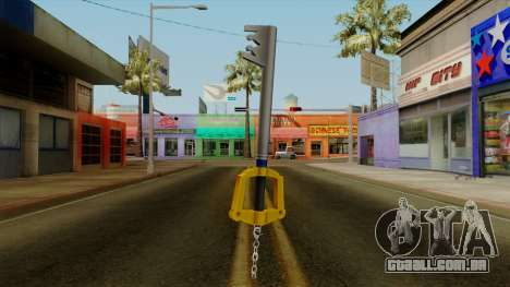 Kingdom Hearts - The Kingdom Key para GTA San Andreas