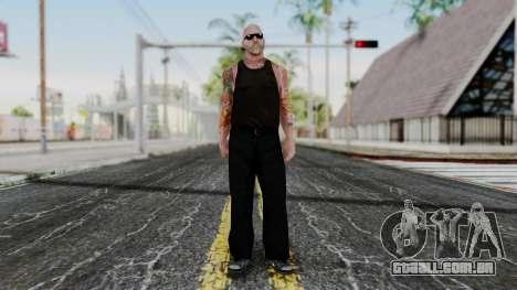 Alice Baker Old Member para GTA San Andreas segunda tela