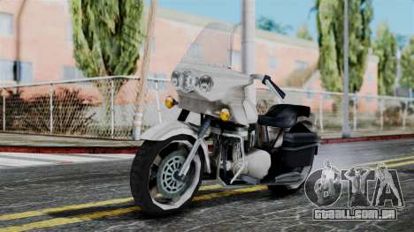 Bike Cop from Bully para GTA San Andreas