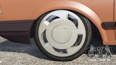 GTA 5 Volkswagen Saveiro Cli 1.6 [Edit] traseira direita vista lateral