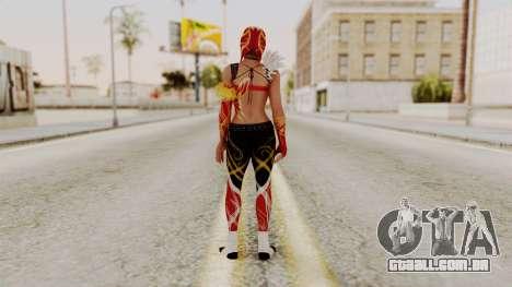 DOA 5 LaMariposa para GTA San Andreas terceira tela