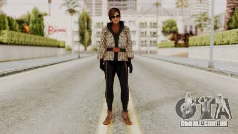 DOA 5 Lisa Hamilton Fashion para GTA San Andreas segunda tela