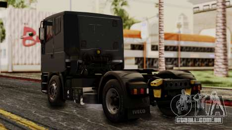 Iveco EuroStar Low Cab para GTA San Andreas esquerda vista