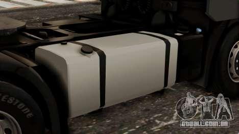 Iveco EuroStar Low Cab para GTA San Andreas vista traseira