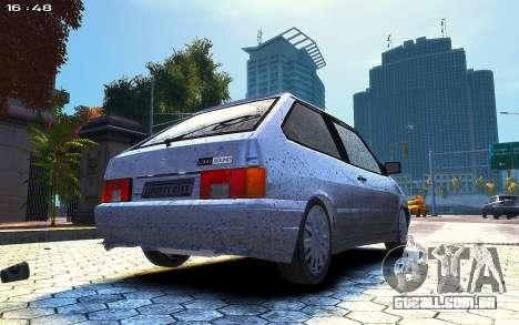 VAZ 2113 para GTA 4 traseira esquerda vista