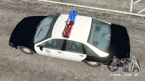 GTA 5 Chevrolet Caprice 1991 LSPD voltar vista