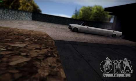 VAZ 2107 de limusina para GTA San Andreas esquerda vista